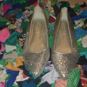 Lane bryant sparkly party shoes